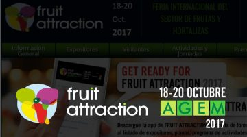 Fruit Attraction 2017 - 18-20 Octubre - Agem - Mercabarna - Port